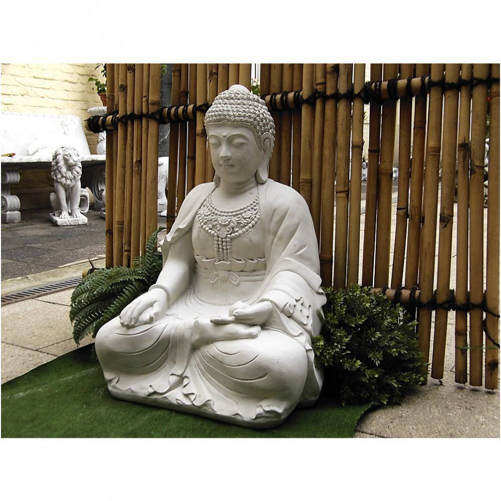 buddha gro schwer sitzend f r koi teich. Black Bedroom Furniture Sets. Home Design Ideas
