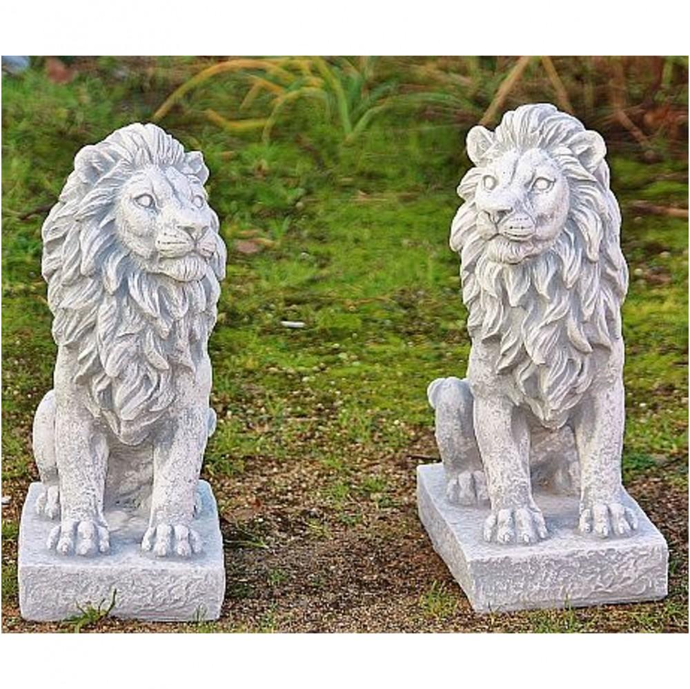 Löwen Aus Steinguss