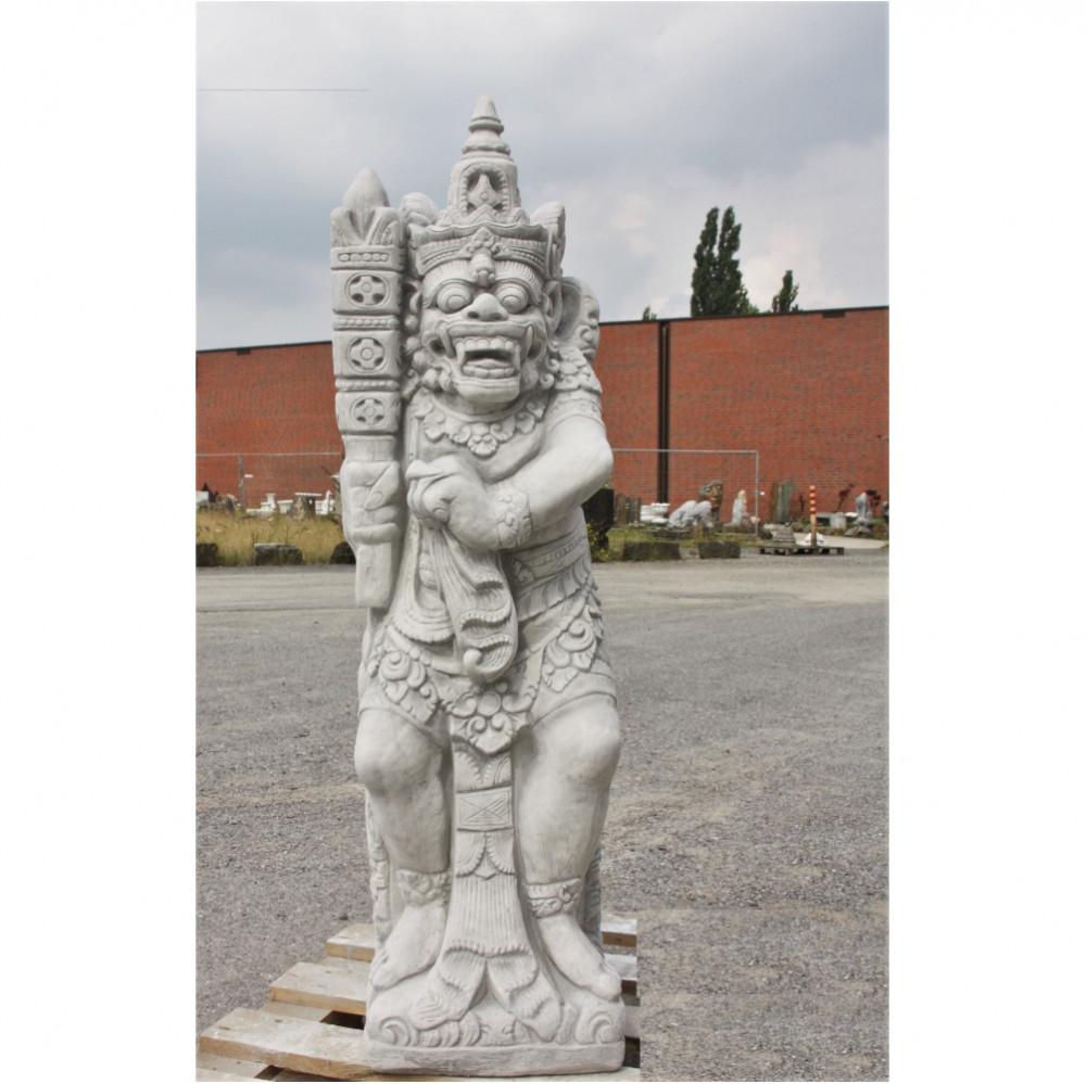 Tempelwächter aus Steinguss von Steinfiguren Horn
