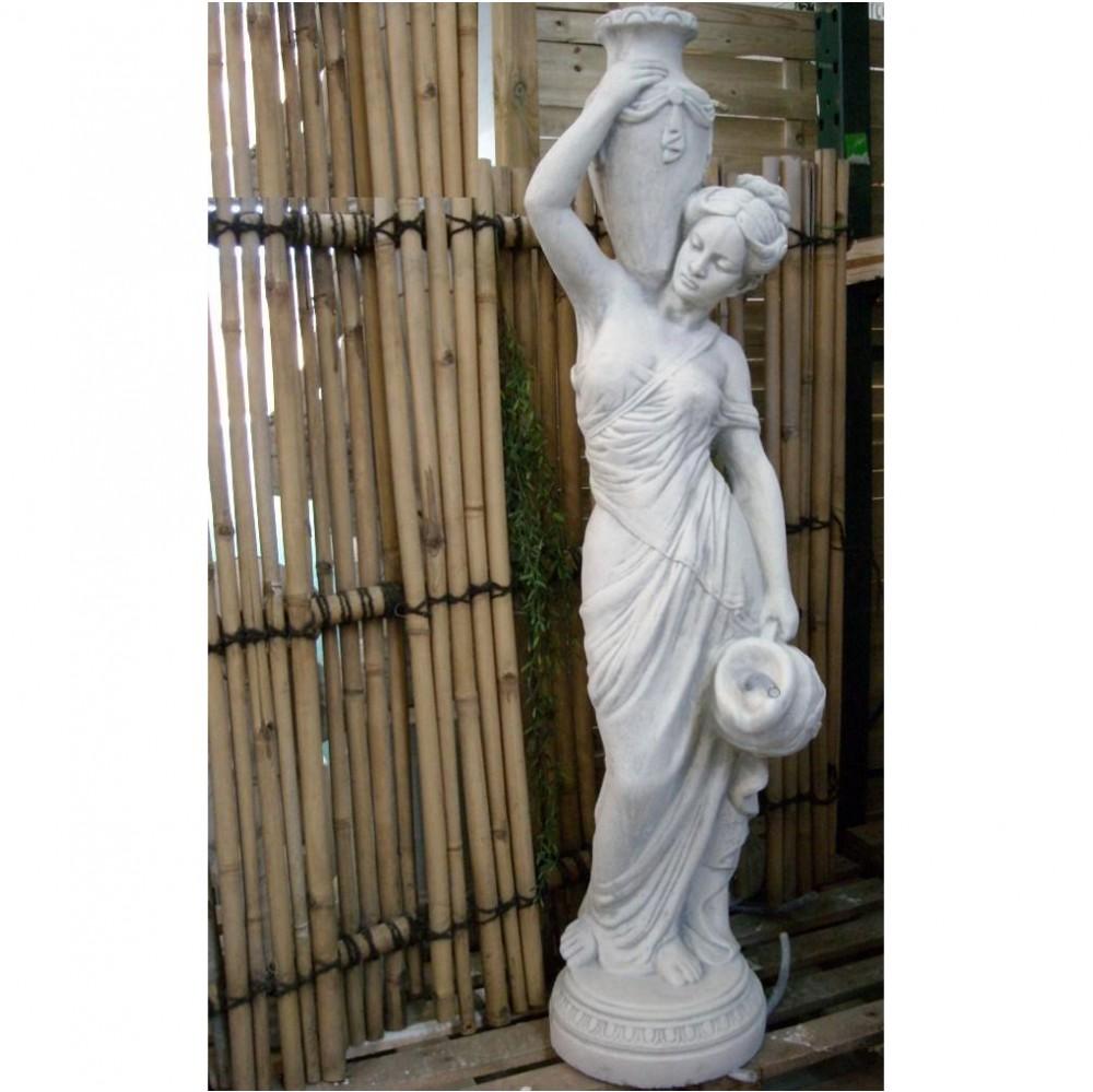 Akt moderne Frauen Skulptur für draußen - Steinfiguren Horn