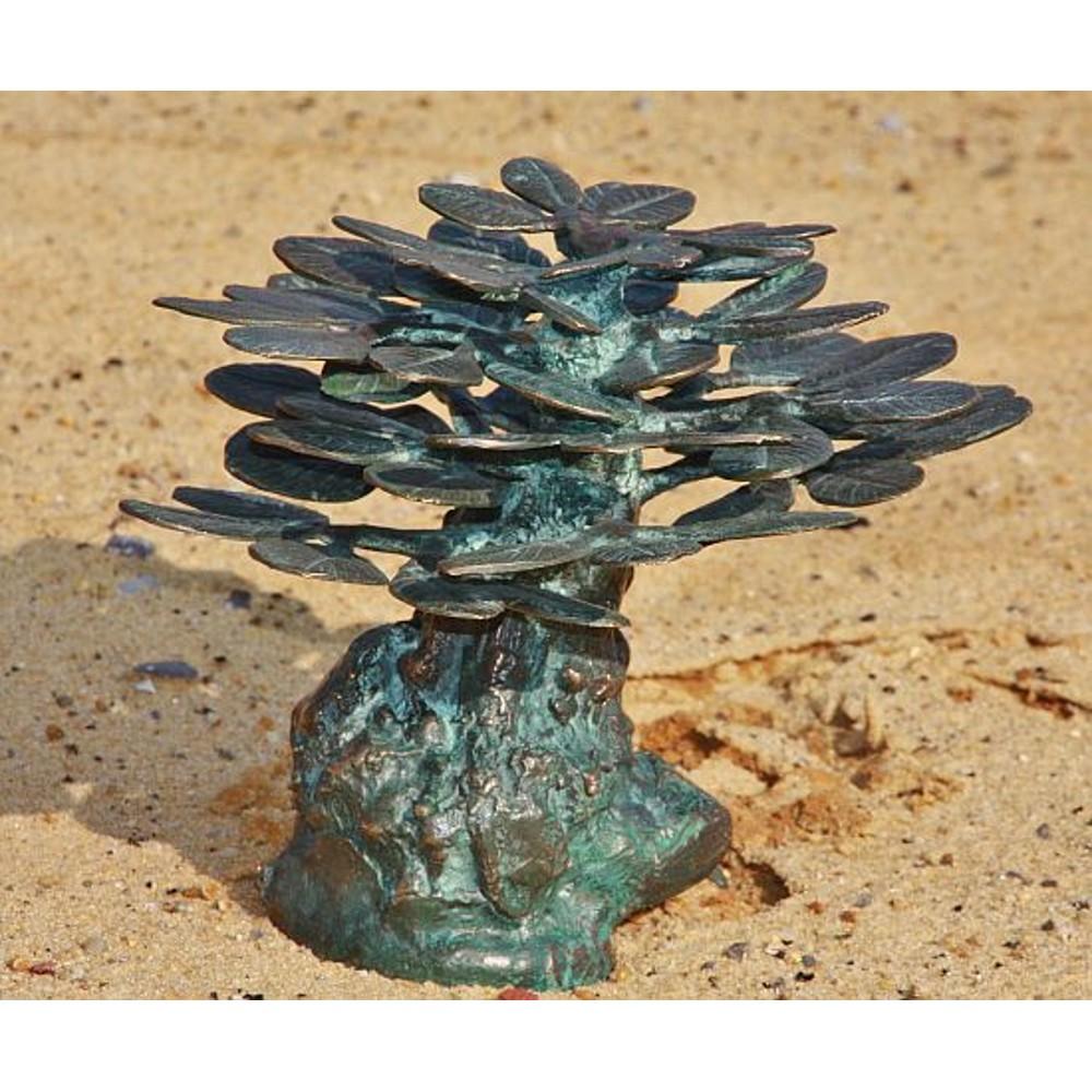 bonsaibaum als dekoration miniatur aus bronze. Black Bedroom Furniture Sets. Home Design Ideas