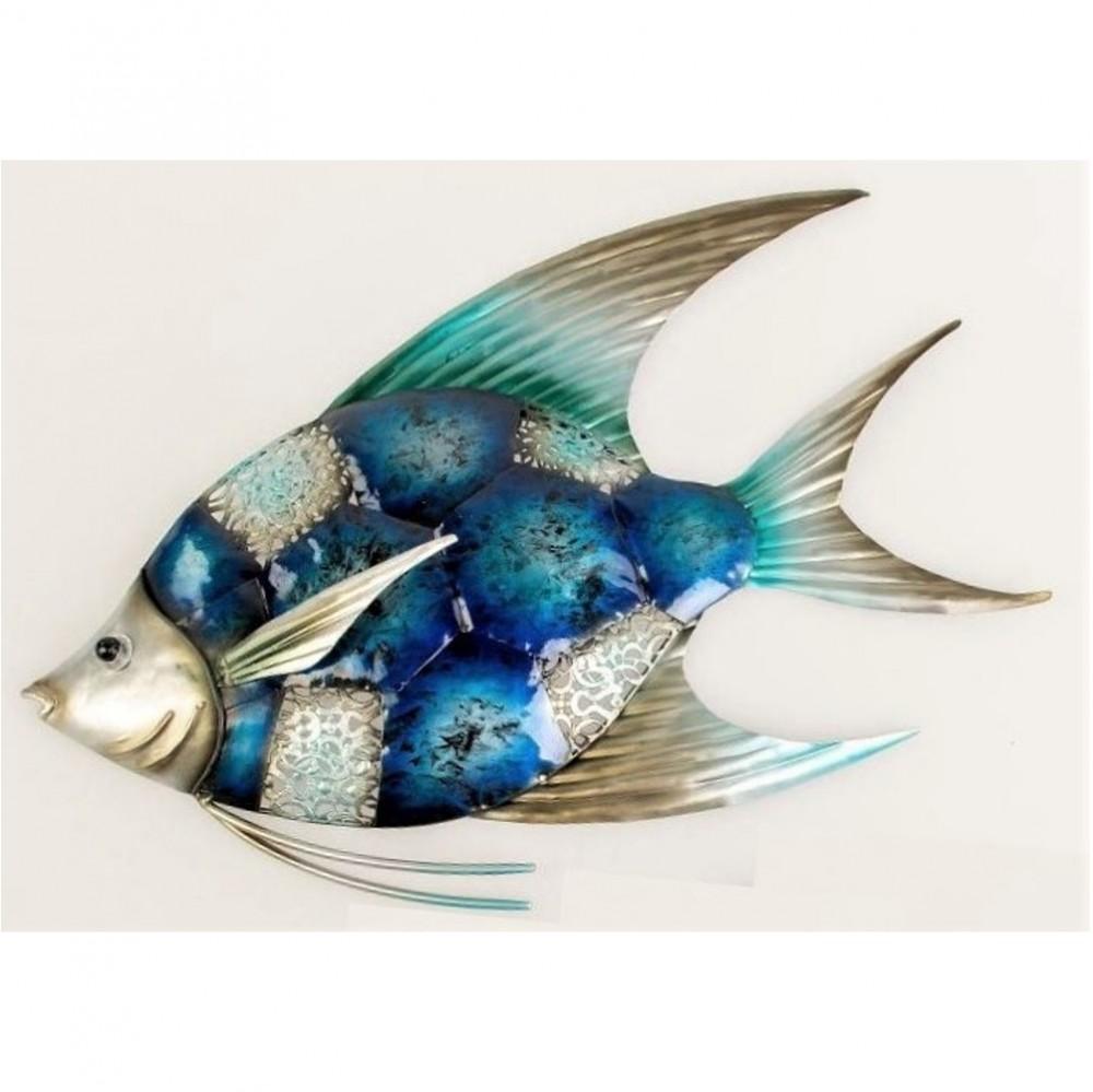 Fisch fuer das badezimmer steinfiguren horn for Zierfisch teich