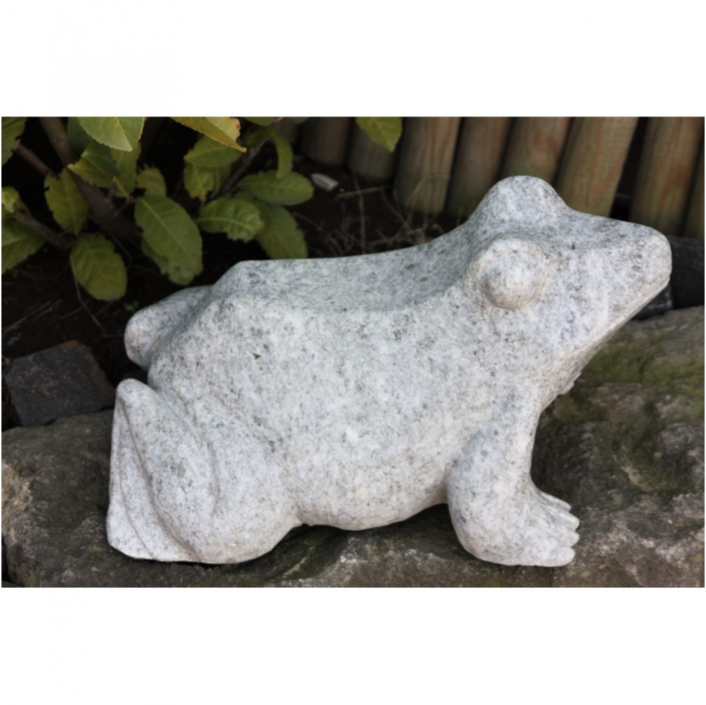 frosch, granit, figur, skulptur, granitfrosch, steinfrosch