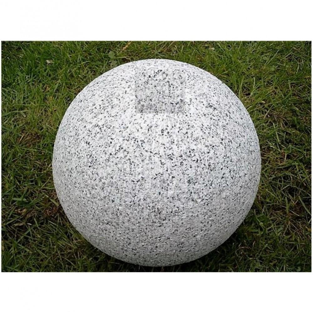 Granit kugel gebohrt zur Gartengestaltung