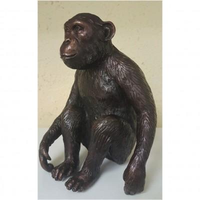 Bronze Affe