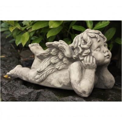Engel entspannt