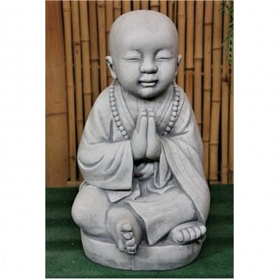 Mönch, sitzend