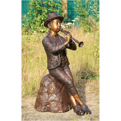 Flötenspieler Groß