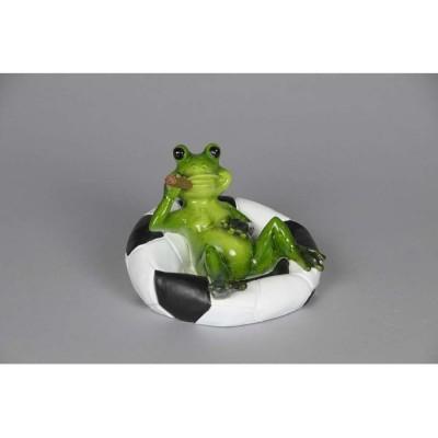 Frosch schwimmend