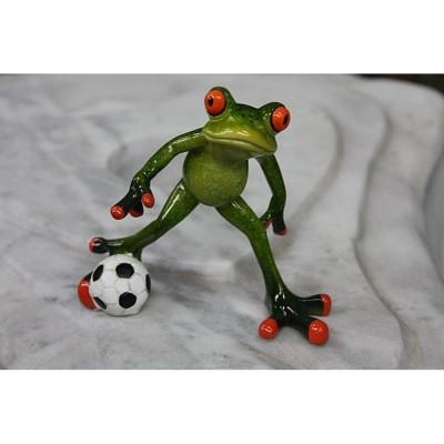 Frosch mit Fußball