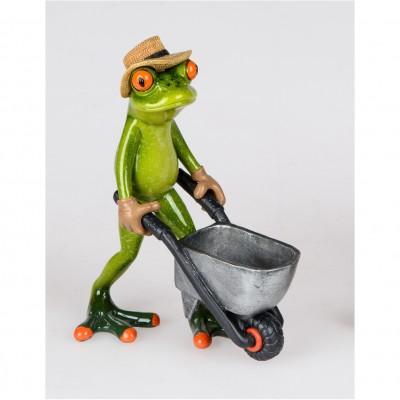 Frosch Schubkarre