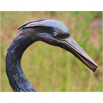 Fischreiher Bronze