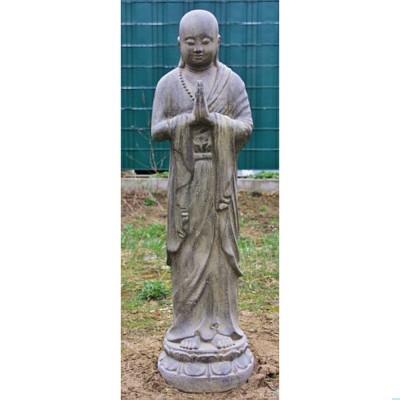 Mönch, stehend
