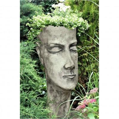 Pflanzgefäss Gesicht