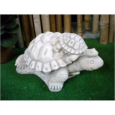 Schildkröte mit Baby