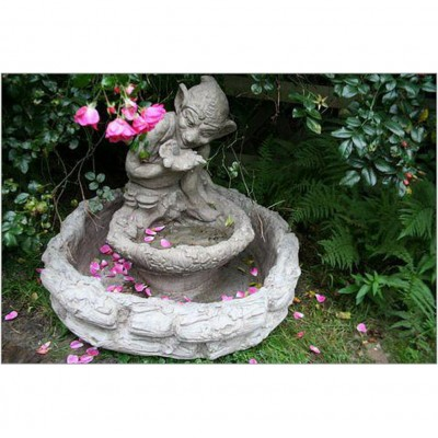 Troll Springbrunnen