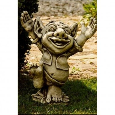 Steinfigur Troll