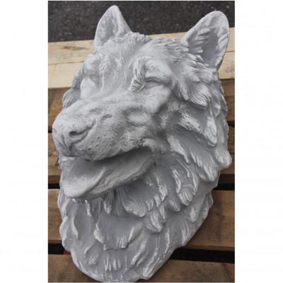 Wasserspeier Wolf