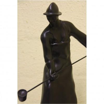 Bronze Eisengießer