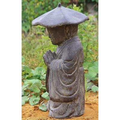 Mönch mit Hut