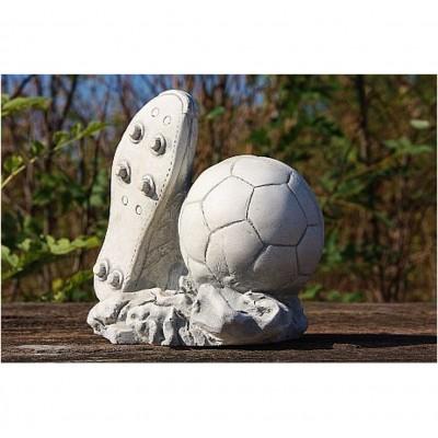 Fußball und Schuh