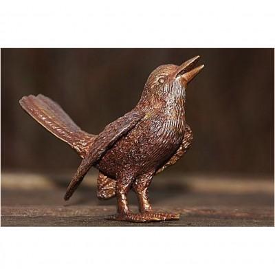 Vogel aus Bronze