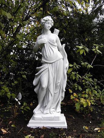 Steinfiguren Garten referenzen