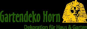 Gartendeko Horn